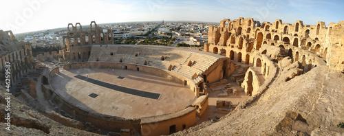 El Djem Amphitheatre panorama