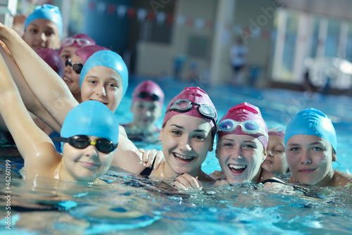 Fototapeten,kind,gruppe,swimming,schule