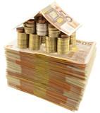 Fototapete Geld - Besitz - Geld / Kreditkarte