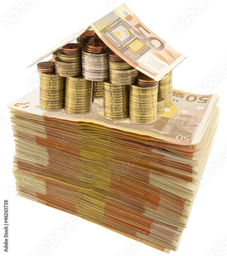 Concept co t immobilier de unclesam imagen libre de for Cout immobilier