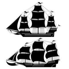 two old ship