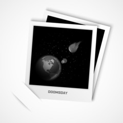 photo of Earth, doomsday illustration