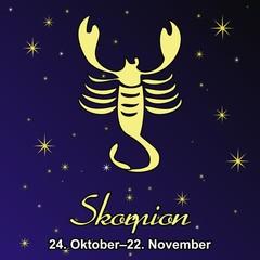 Skorpion - Sternzeichen ~ Tierzeichen ~ Tierkreiszeichen