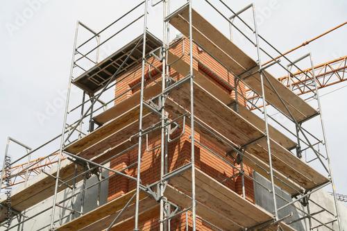 Remont elewacji budynku