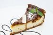 Творожный пирог с шоколадной глазурью