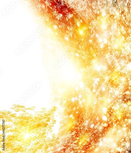 Abstract bright Background for Christmas_With copy-space.