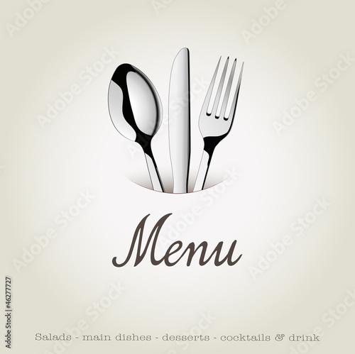 Menu restaurant fichier vectoriel libre de droits sur la for Menu convivial entre amis