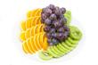 Тарелка с фруктовым ассорти