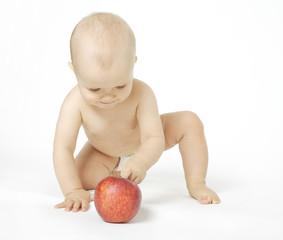 niemowlę raczkujące