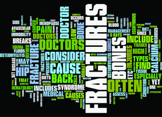 Back Pain and Fractures