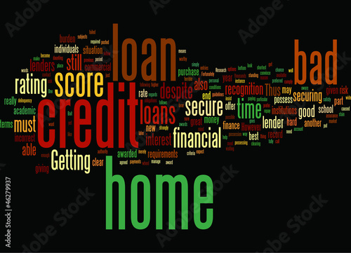 bad_credit_home_loan_score