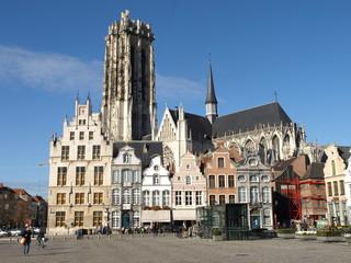 Grote Markt Mechelen Belgien