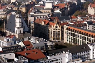Leipzig Luftbild Thomaskirche
