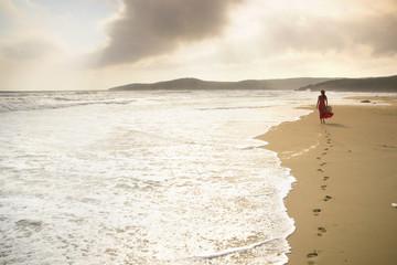 Beside the sea