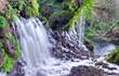 Résurgences de la cascade de Grand-Galet