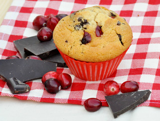 Cranberry-Schoko-Muffin