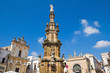 Virgin column. Nardò. Puglia. Italy.