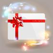 Gift Card Bokeh