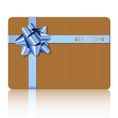 Gift Card Karton
