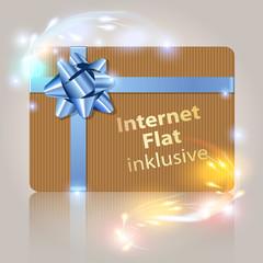 Internet Flat inklusive Gift Card Bokeh