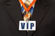 Geschäftsmann mit Ausweis am Schlüsselband - VIP