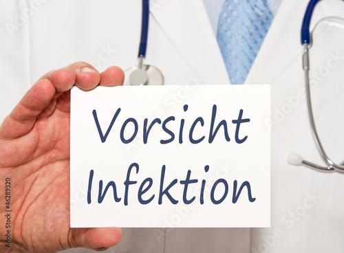 Vorsicht Infektion