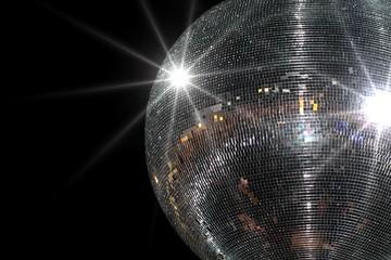 Shining disco ball
