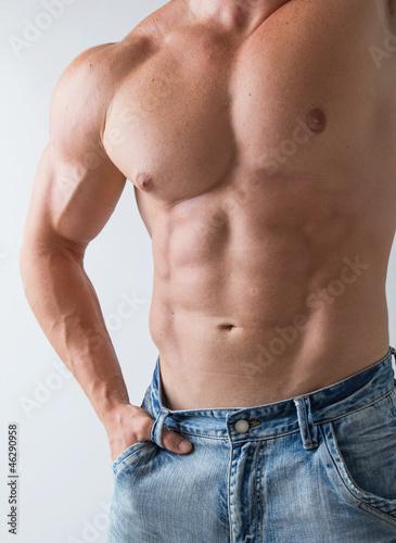 Fototapeten,männlich,mann,tau,abdominal