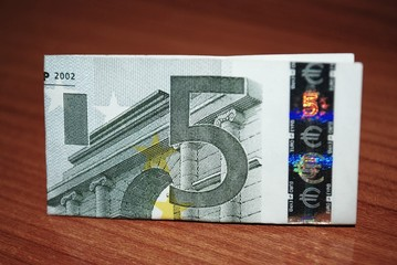 Billete de cinco euros