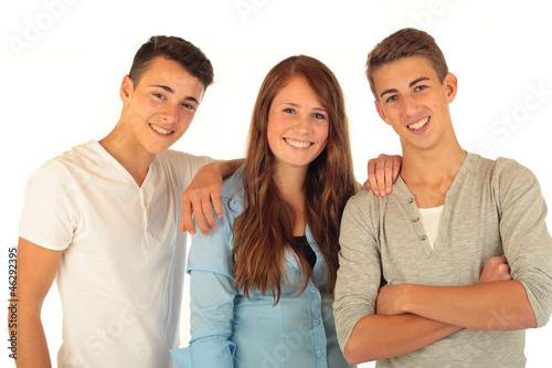 Leinwandbild Motiv 3 Teens 31.10.12