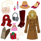 Feminine fashion item,Winter and Autumn Season