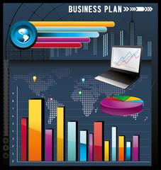vector abstracto de negocios