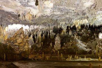 A cave gallery in Ledenika cave, Bulgaria