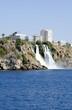 Водопад Нижний Дюден, Средиземное море, Анталия, Турция