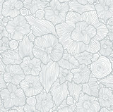 Fototapety vector background with floral ornament
