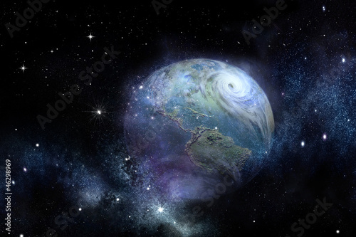 Hurricane - Earth Photo