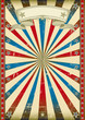 Textured tricolor retro background