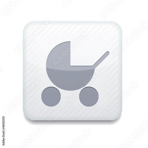 white pram icon.