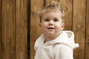 blond child