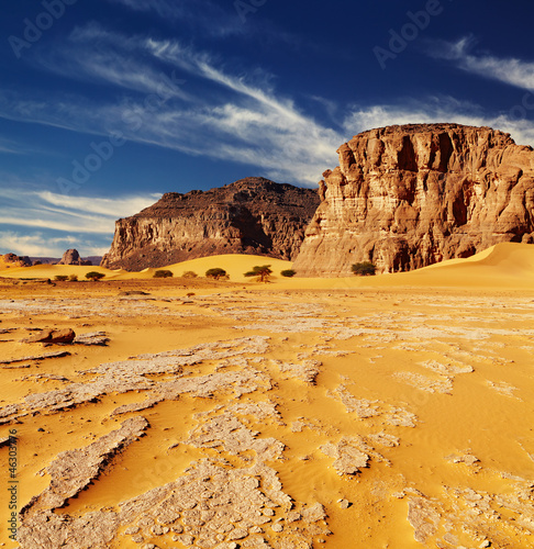 Foto op Plexiglas Algerije Sahara Desert, Algeria