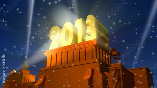 New Year 2013 celebration title