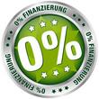 """Button """"0% Finanzierung"""" grün/silber"""
