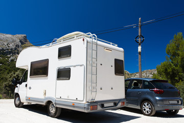 Motorhome RV in Mallorca Spain