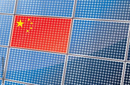 la production de panneaux solaires chinois