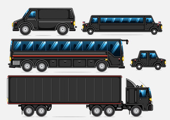 black transport collection