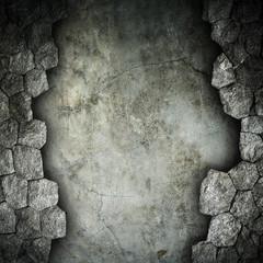 broken stone background