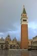 Le Campanile et la basilique Saint-Marc à Venise - Italie