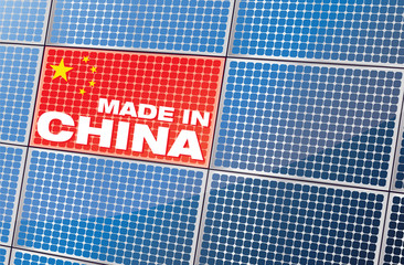 made in china - Panneaux solaires chinois