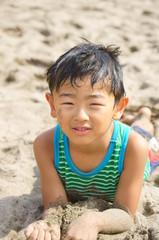 日光浴 On the Beach