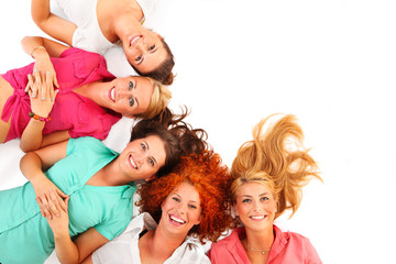Cheerful women